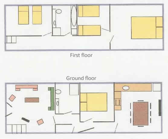 Holiday Cottage floor plan